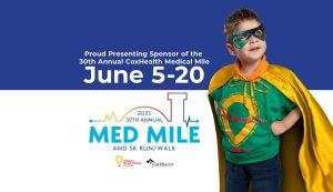 Proud Presenting Sponsor of CoxHealth Medical Mile